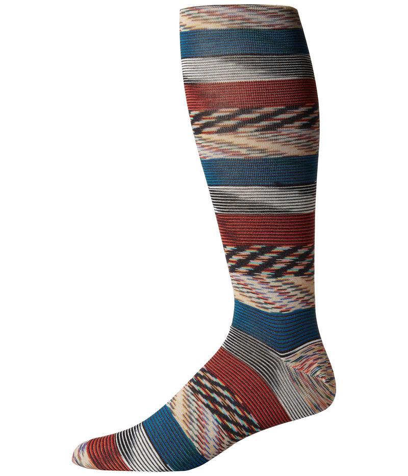 ミッソーニ メンズ 靴下 アンダーウェア Fiammata Multicolor Socks Multi