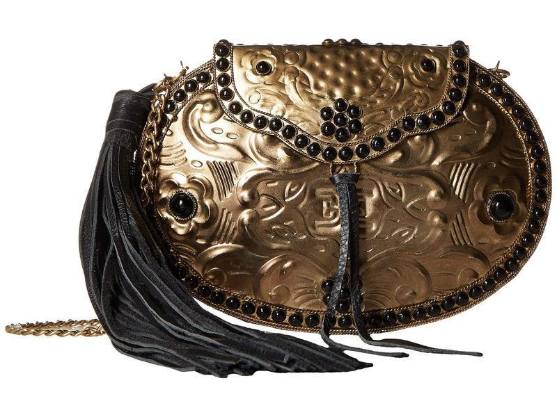 サムエデルマン レディース ハンドバッグ バッグ Rosaleen Metal Box Brass