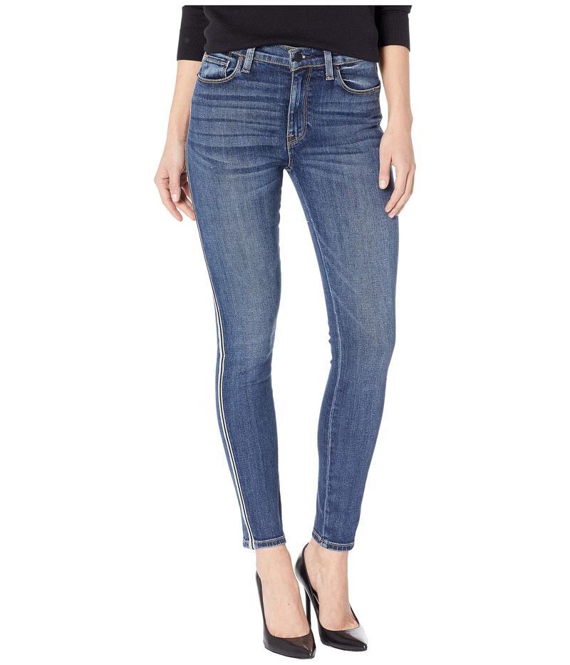 ハドソンジーンズ レディース デニムパンツ ボトムス Barbara High-Rise Ankle with Side Taping Skinny Jeans in Hypnotic Hypnotic