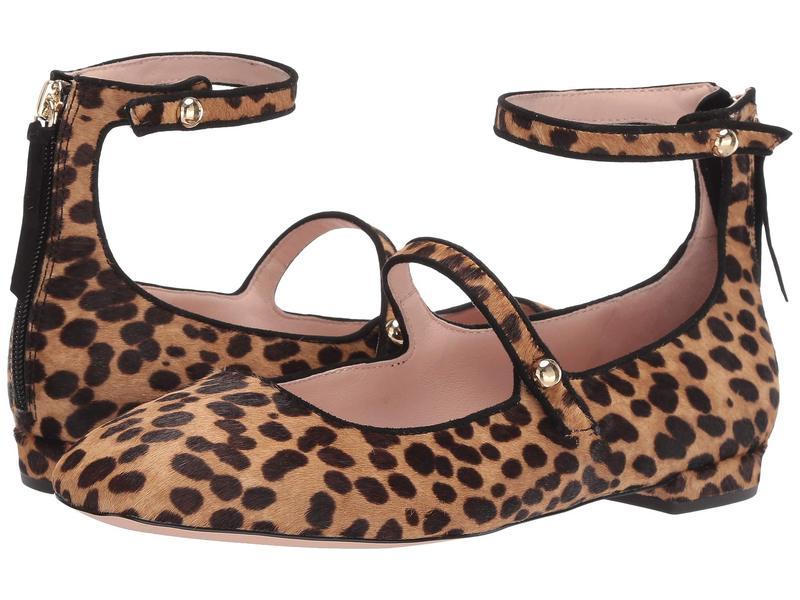 ジェイクルー レディース サンダル シューズ Poppy Ballet Flats in Two-Straps Sahara Brown