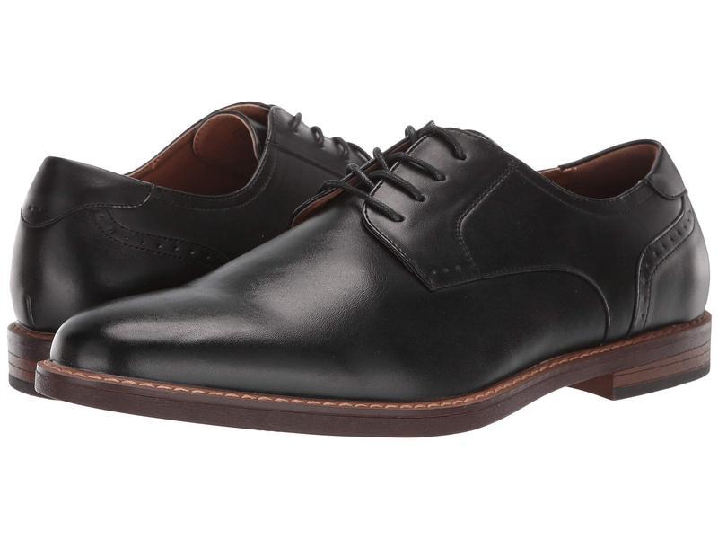 ノンブッシュ メンズ オックスフォード シューズ Royce Plain Toe Oxford Black