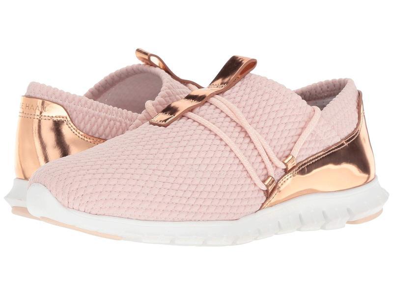 コールハーン レディース スニーカー シューズ Zerogrand Quilted Sneaker Peach Blush Quilt Stretch