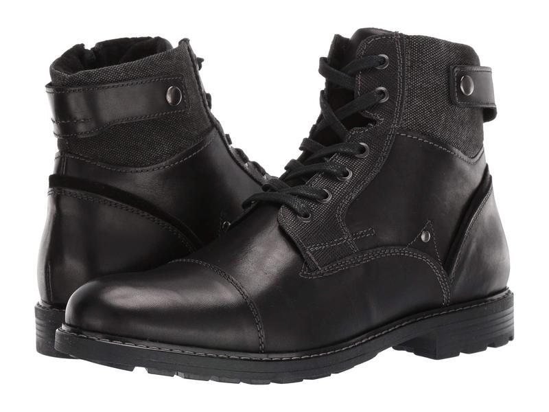 アルド メンズ ブーツ・レインブーツ シューズ Olaenia Black Leather