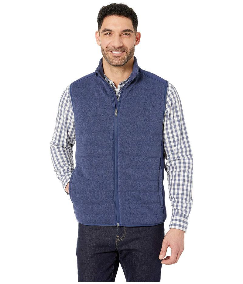 ヴァインヤードヴァインズ メンズ コート アウター Performance Sweater Fleece Vest Deep Bay