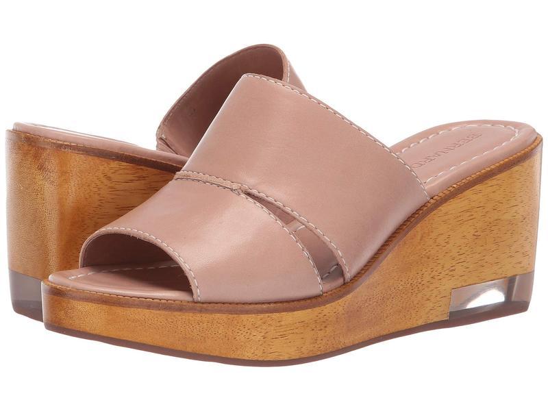 ベルナルド レディース ヒール シューズ Kara Wedge Sandal Blush Antique Calf