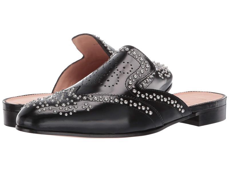 ジェイクルー レディース スリッポン・ローファー シューズ Academy Loafer Studded Mule Black