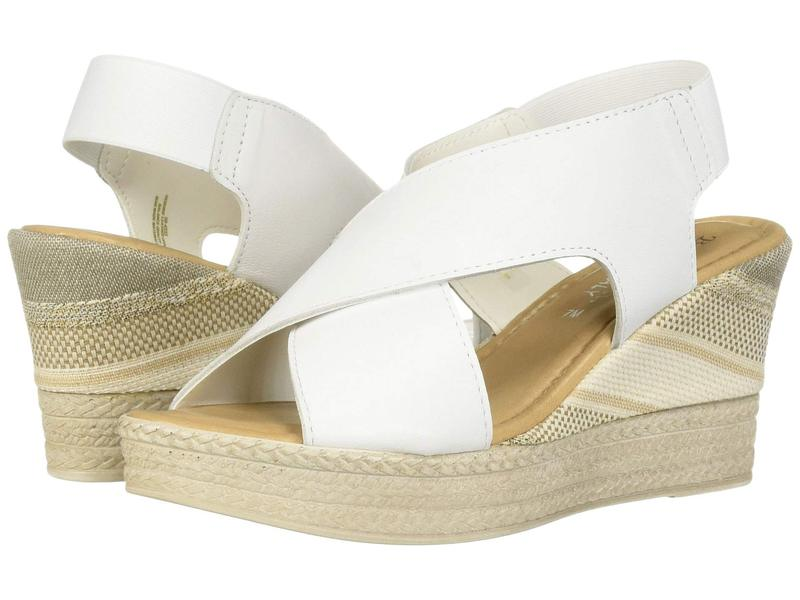 ベラビタ レディース ヒール シューズ Bec-Italy White Italian Leather