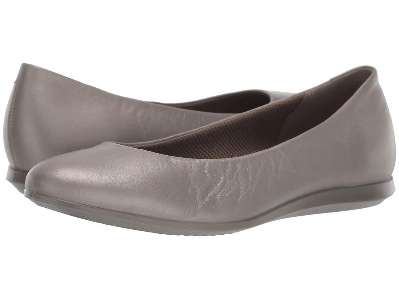 エコー レディース サンダル シューズ Touch Ballerina 2.0 Stone Metallic Cow Leather