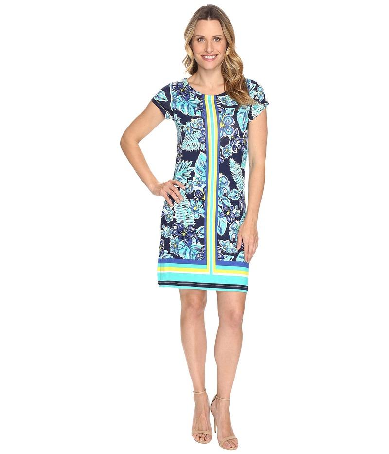 ハットレイ レディース ワンピース トップス Tee-Shirt Dress Kauai Floral Rainforest