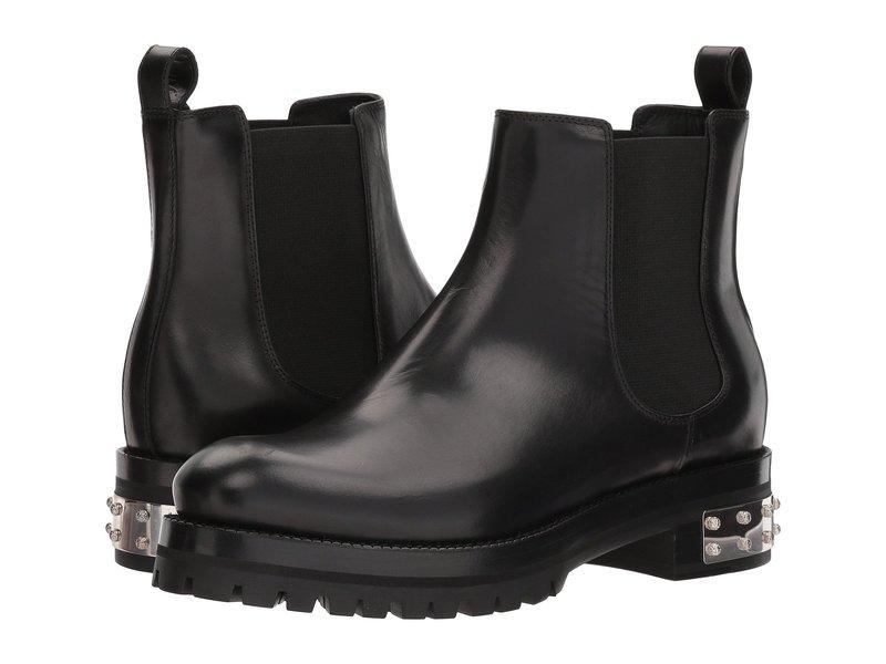 アレキサンダー・マックイーン レディース ブーツ・レインブーツ シューズ Mod Boot Black/Black