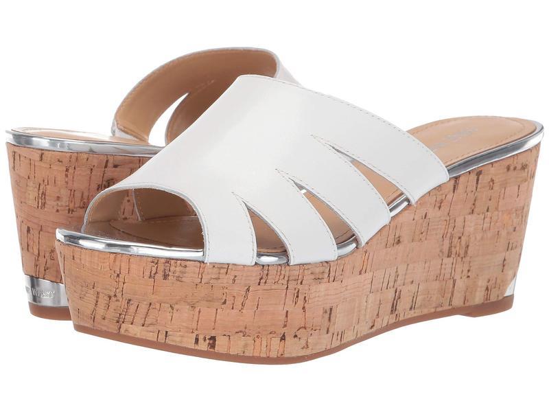 ナインウェスト レディース ヒール シューズ Victoria Platform Sandal White