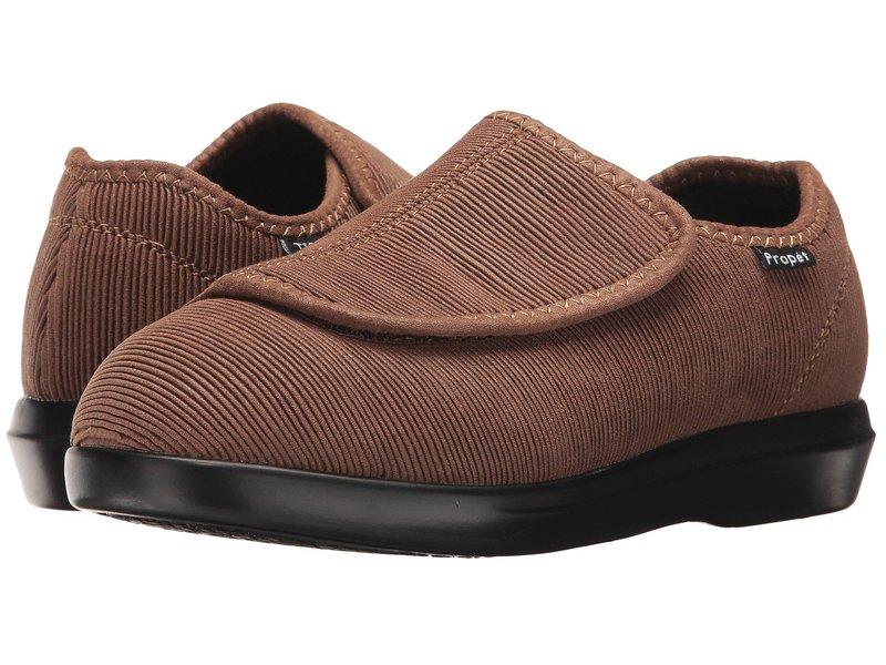 プロペット レディース サンダル シューズ Cush 'n Foot Medicare/HCPCS Code = A5500 Diabetic Shoe Sand Corduroy