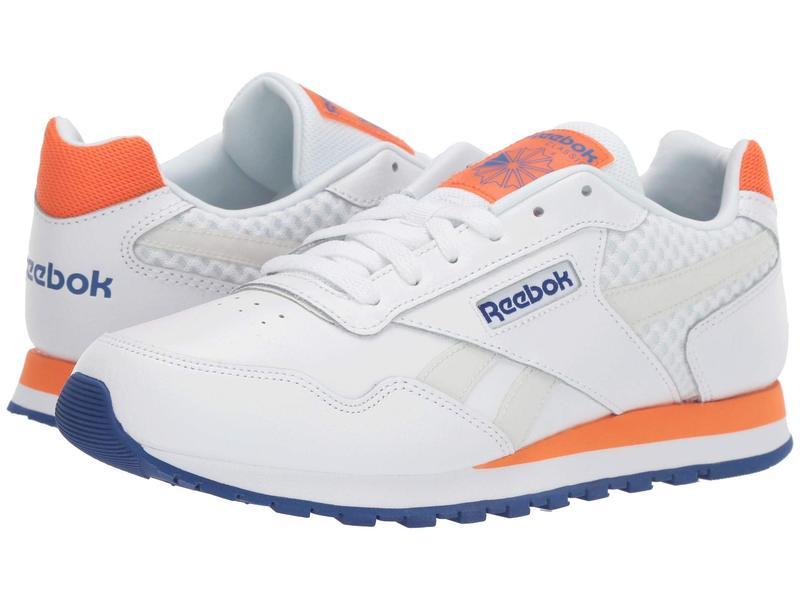 リーボック メンズ スニーカー シューズ CL Harman Run LT Us-White/Cobalt/Orange/Grey