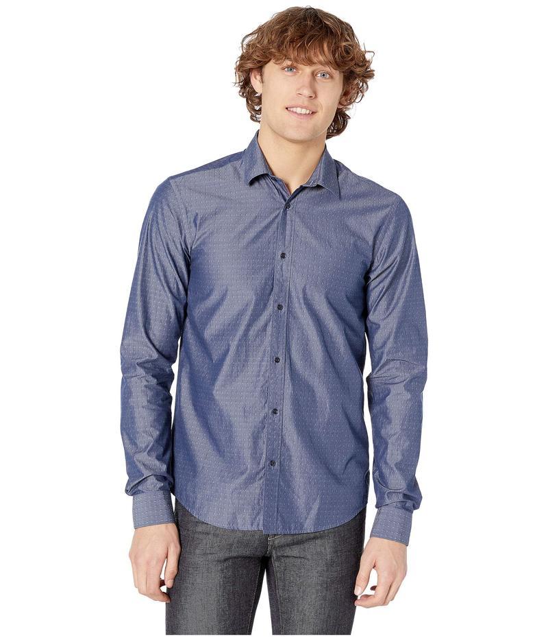 スコッチアンドソーダ メンズ シャツ トップス Regular Fit - Chic Yarn-Dye Shirt Combo D
