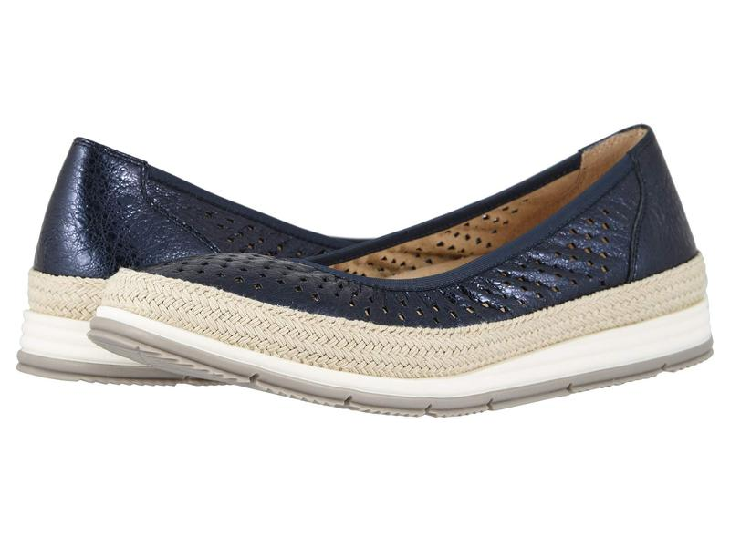 ベネリ レディース サンダル シューズ Quartz Navy Peeble Metallic/Natural Rope/Metch Elastic