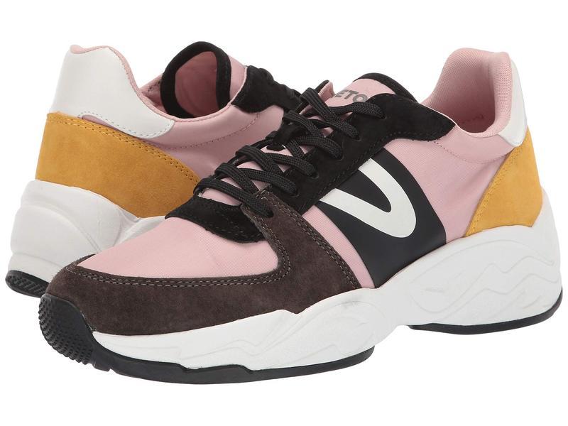 トレトン レディース スニーカー シューズ Lexie 3 Oliva/Neutral Pink/Yellow/Black/Black/White