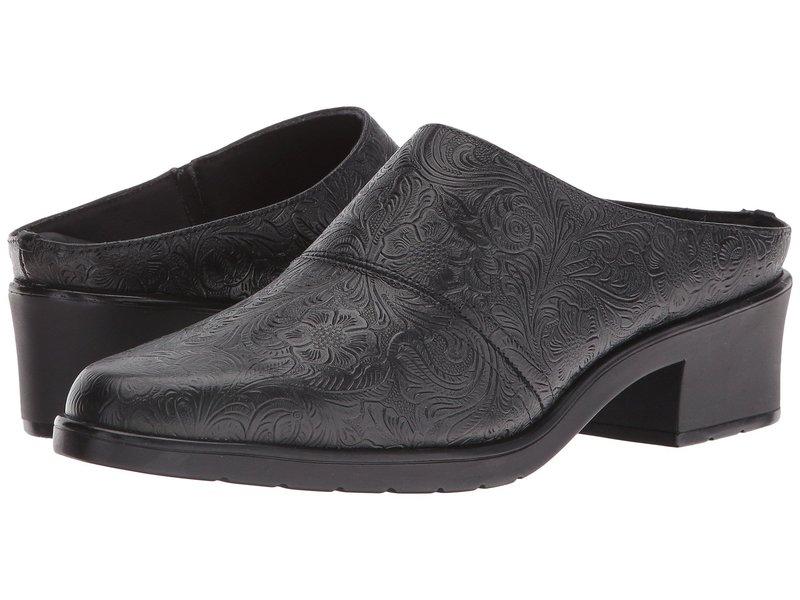 ウォーキング クレイドル レディース サンダル シューズ Caden Black Tooled Leather