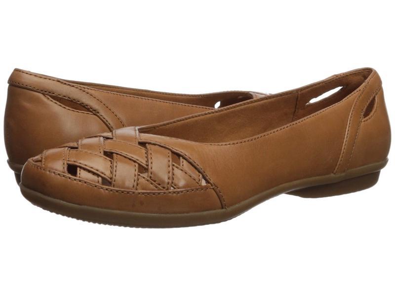 クラークス レディース サンダル シューズ Gracelin Maze Tan Leather