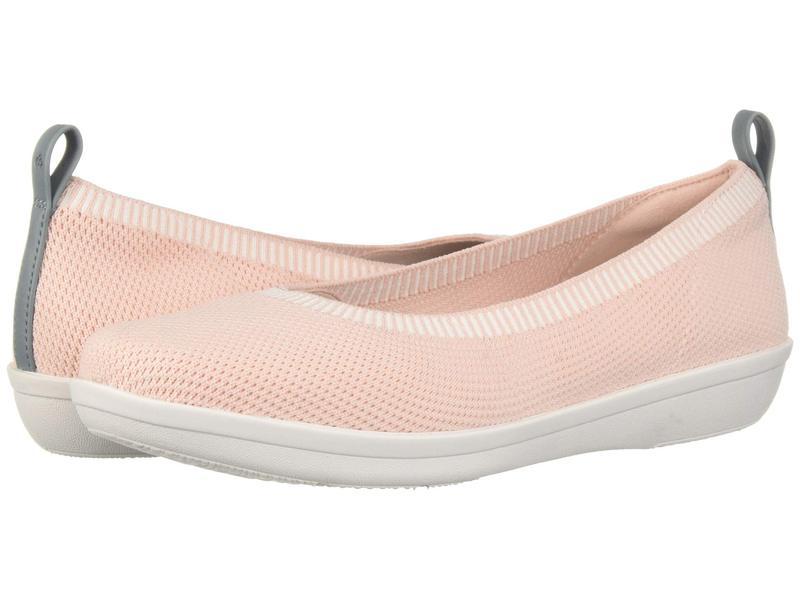 クラークス レディース サンダル シューズ Ayla Paige Light Pink Knit
