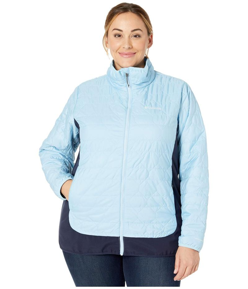 コロンビア レディース コート アウター Plus Size Seneca Basin¢ Hybrid Jacket Crystal Blue/Dark Nocturnal