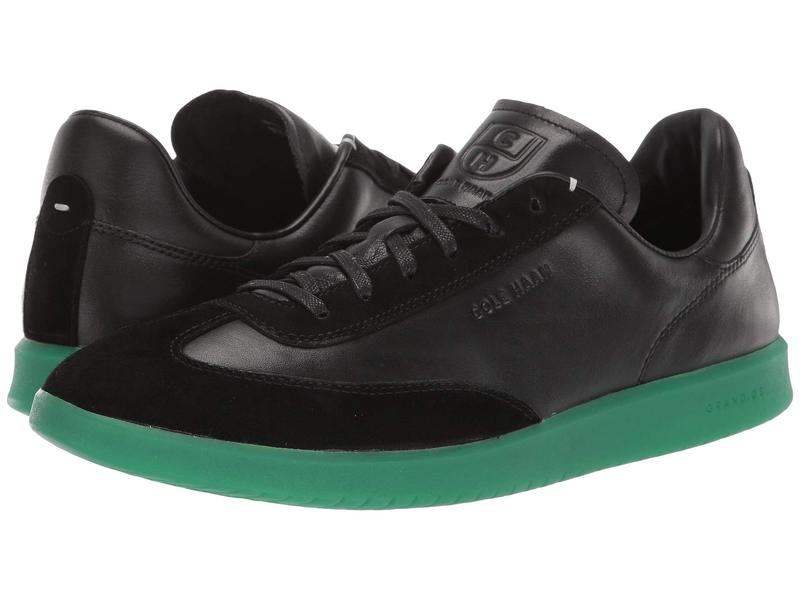 コールハーン メンズ スニーカー シューズ Grandpro Turf Sneaker Black/Green Translucent