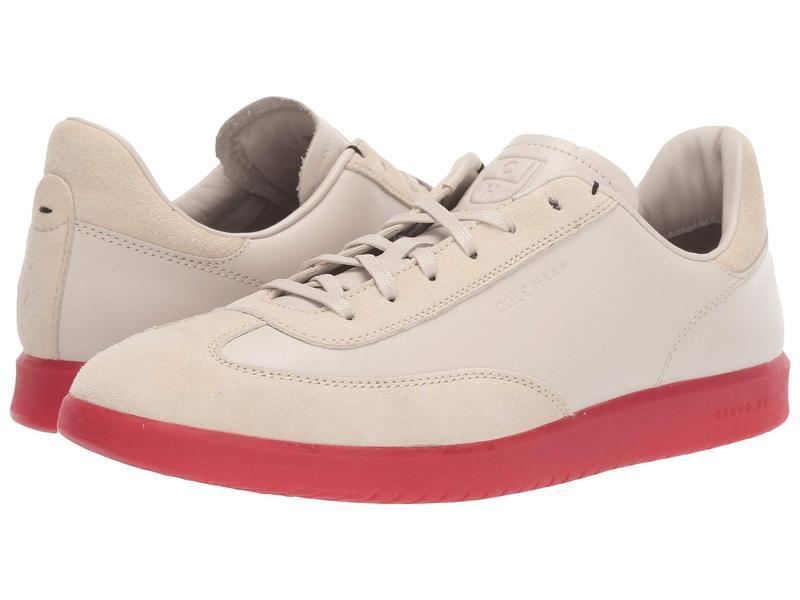 コールハーン メンズ スニーカー シューズ Grandpro Turf Sneaker Pumice/Red Translucent