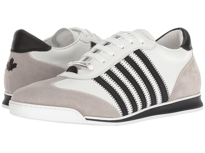 ディースクエアード メンズ スニーカー シューズ New Runner Sneaker White/Black/Grey