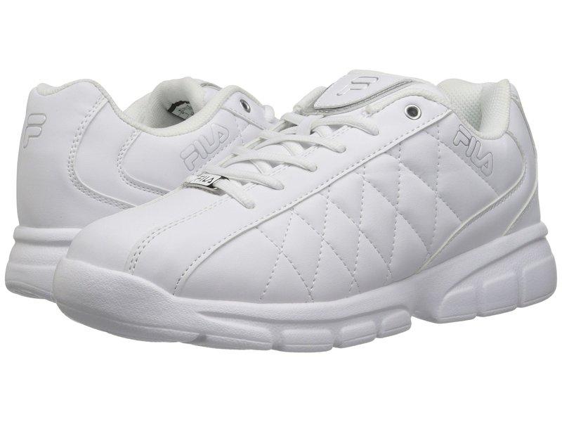 フィラ メンズ スニーカー シューズ Fulcrum 3 White/White/Metallic Silver