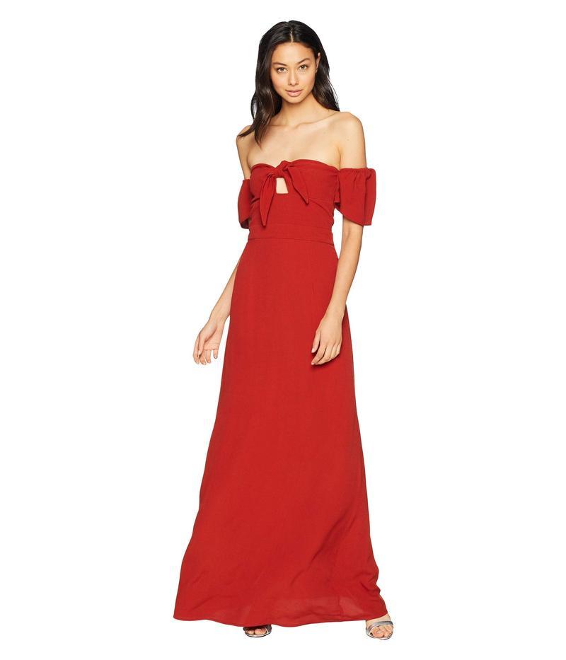 フリンスカイ レディース ワンピース トップス Iris Maxi Dress Spice