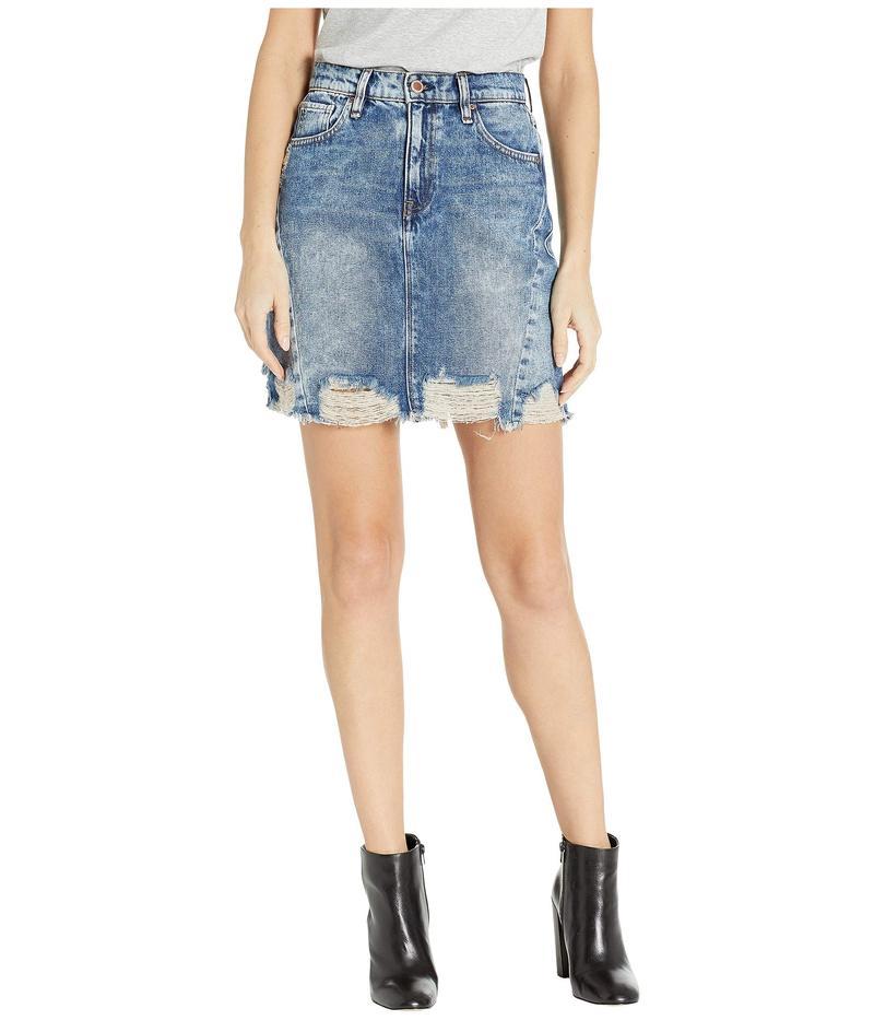 ハドソンジーンズ レディース スカート ボトムス Lulu Frayed Skirt in Overshadow Overshadow
