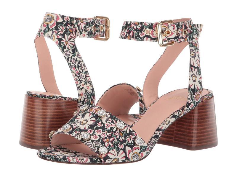 ジェイクルー レディース ヒール シューズ Penny Sandal in Liberty Floral with Jewels White Garden