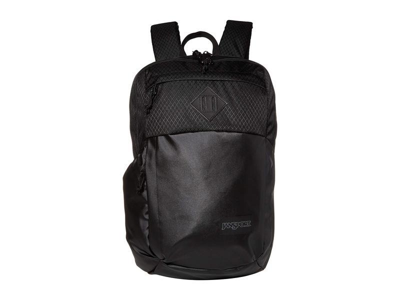 ジャンスポーツ メンズ バックパック・リュックサック バッグ Fremont Black Matte Coated 600D