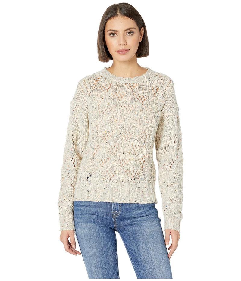 ラッキーブランド レディース ニット・セーター アウター Donegal Pullover Sweater Natural Multi