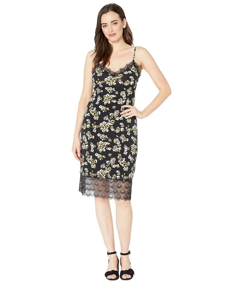 マイケルコース レディース ワンピース トップス Glam Painterly Slip Dress Black/Ivy