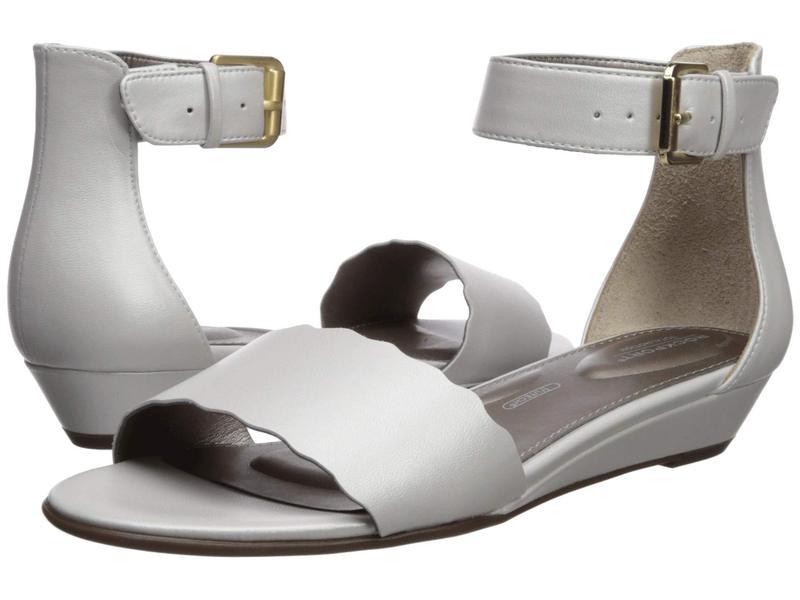 ロックポート レディース サンダル シューズ Total Motion Zandra Curve Ankle White