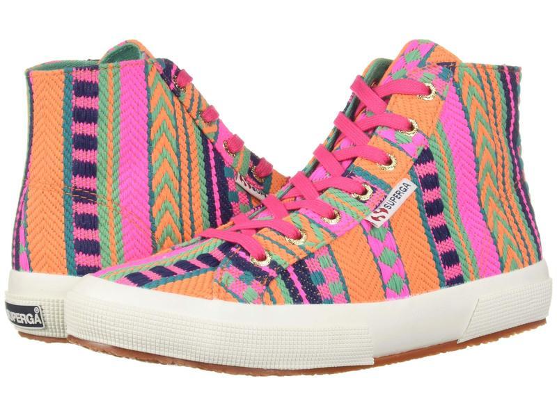 スペルガ レディース スニーカー シューズ 2795 Artesaw Sneaker Pink Neon