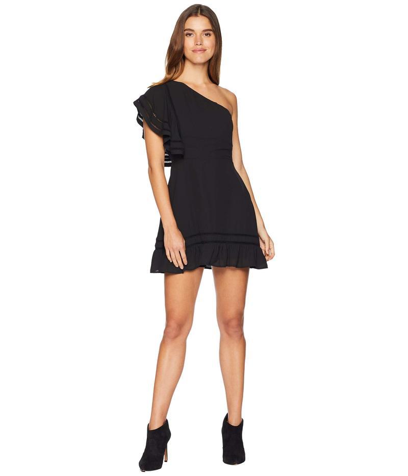 ビービーダコタ レディース ワンピース トップス Toast To The Town One Shoulder Dress Black