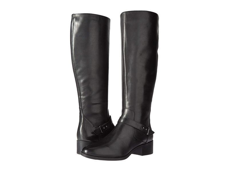 バンドリーノ レディース ブーツ・レインブーツ シューズ Bloema Boot Black Leather