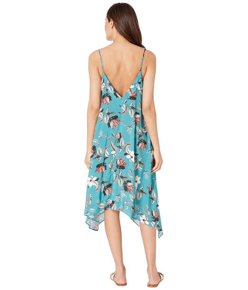 ビーシビージー レディース ワンピース トップス Desert Flower Flowy Midi Dress TealI7vfgm6Yby