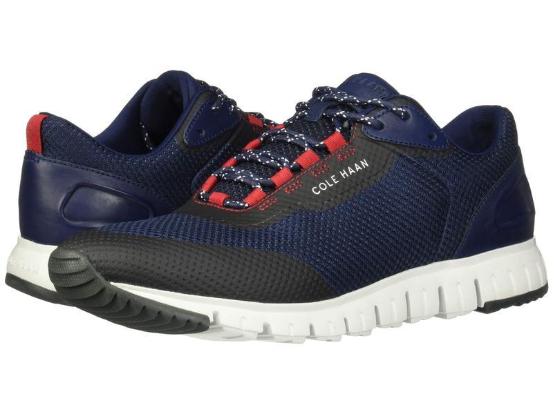 コールハーン メンズ スニーカー シューズ Grandsport Flex Sneaker Marine Blue/Nimbus