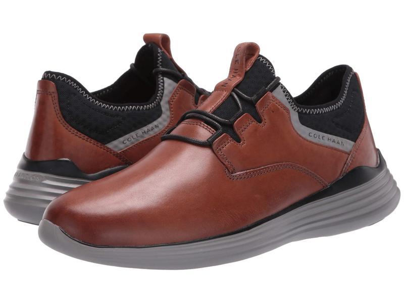 コールハーン メンズ スニーカー シューズ Grandsport Sneaker British Tan/Ironstone