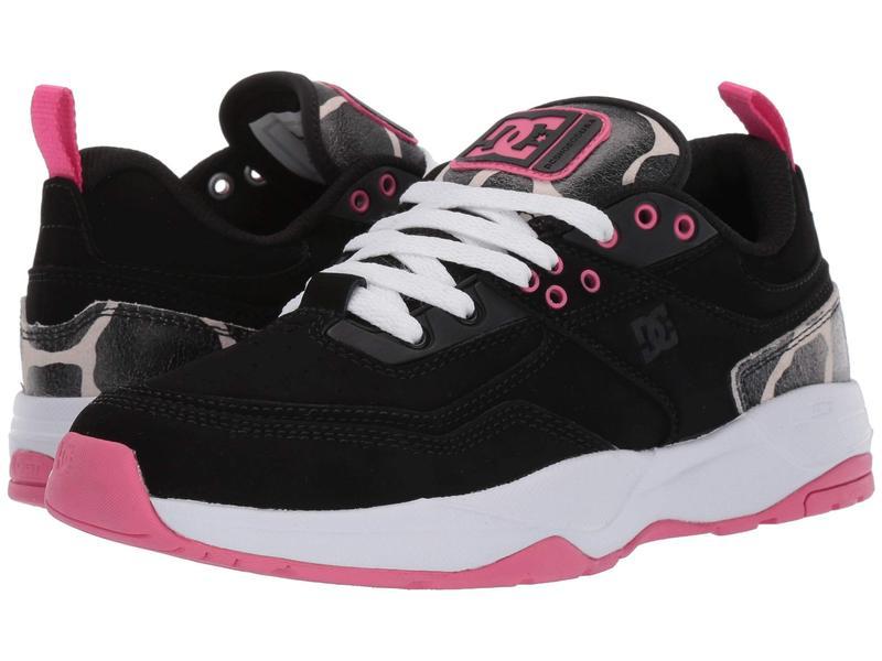 ディーシー レディース スニーカー シューズ E.Tribeka Women's Black/Pink