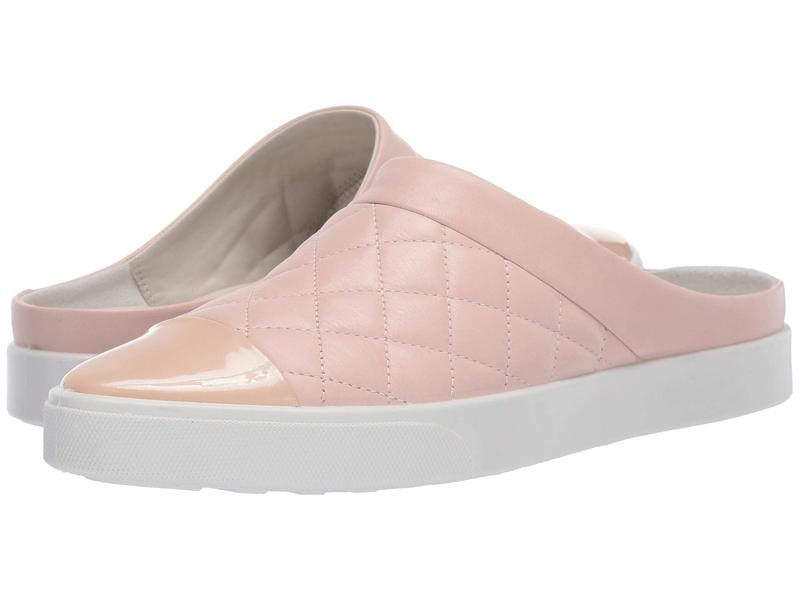 エコー レディース スニーカー シューズ Gillian Quilted Slide Rose Dust/Rose Dust Cow Leather