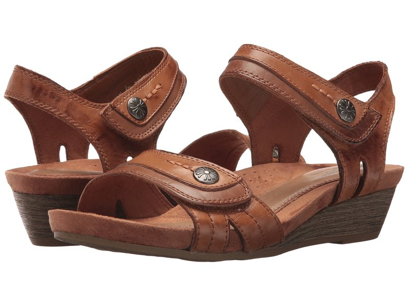 コブ ヒル レディース ヒール シューズ Cobb Hill Hollywood Two-Piece Sandal Tan Leather