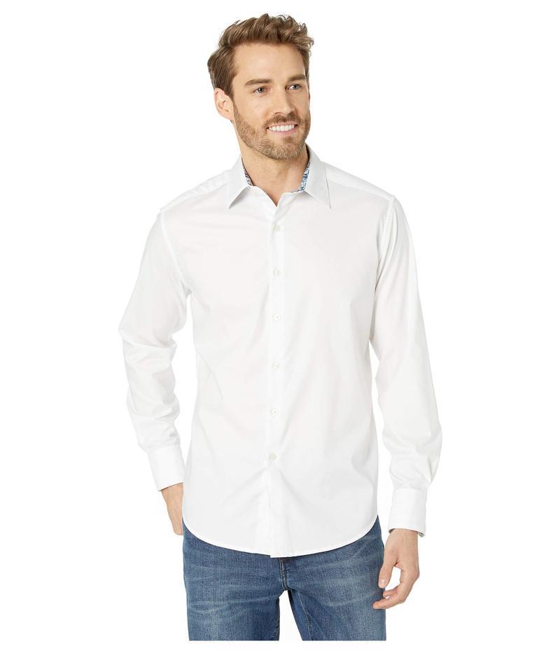 ロバートグラハム メンズ シャツ トップス Rutherford Classic Fit Sport Shirt White