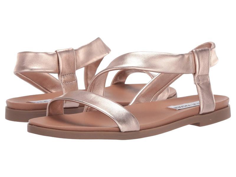 スティーブ マデン レディース サンダル シューズ Dessie Flat Sandals Rose Gold