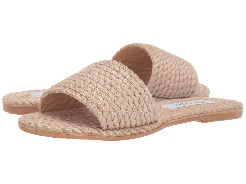 スティーブ マデン レディース サンダル シューズ Roper Flat Sandals Natural