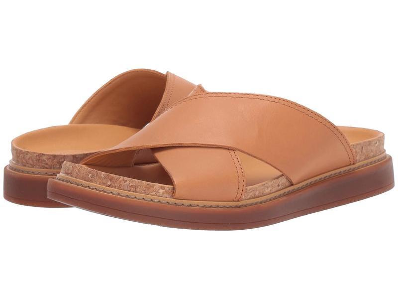 クラークス レディース サンダル シューズ Trace Drift Light Tan Leather