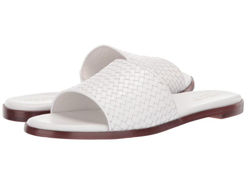 コールハーン レディース サンダル シューズ Analise Weave Sandal Ivory Leather