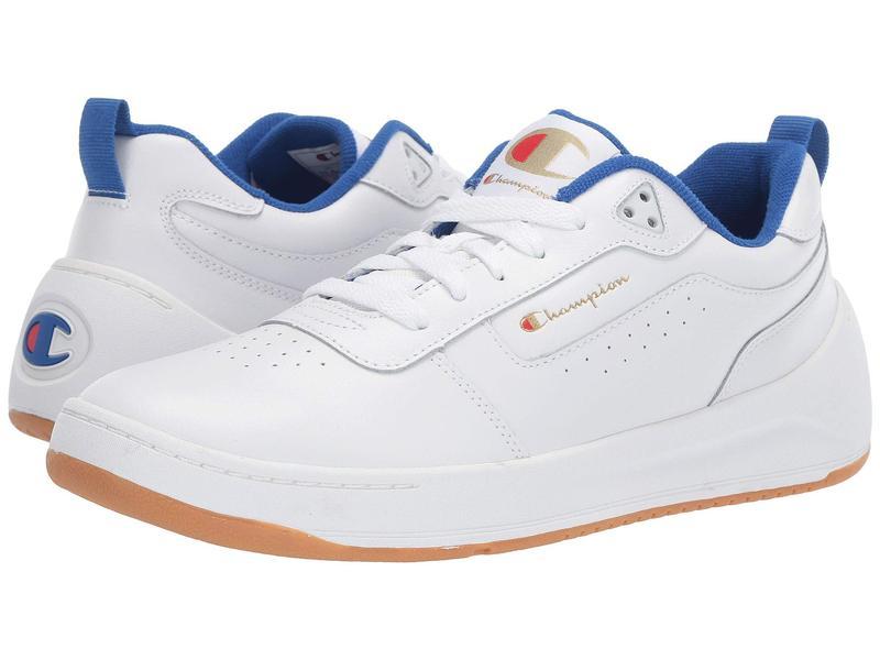 チャンピオン メンズ スニーカー シューズ Super C Court Classic Leather White